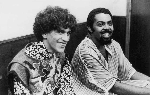 Gilberto Gil e Caetano Veloso